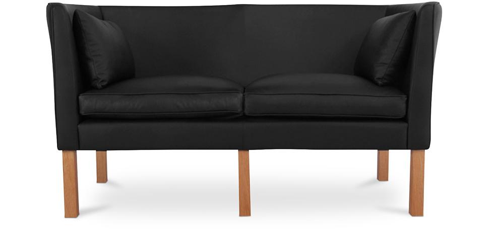 Scandinavian Design Sofa 2214 2 Seats Børge Mogensen Style Premium Leather