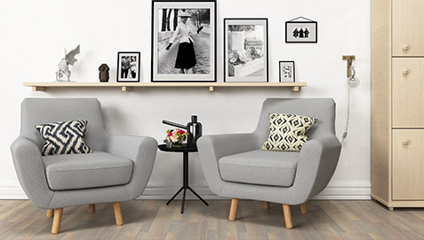 You Can Combine This Armchair With The Jonaasah Scandinavian Style Sofas.  This Armchair Is Available In Various Colours.