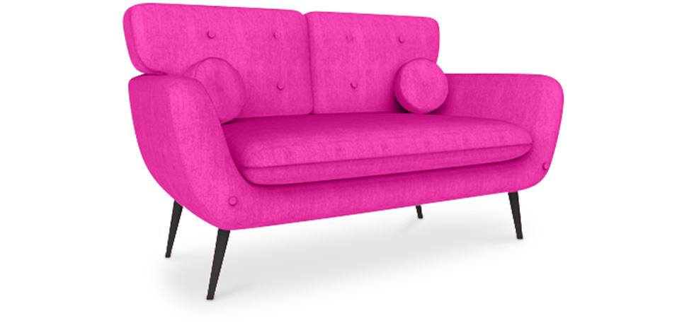 Scandinavian Style 2 Seater Sofa Juls