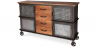 Buy Zuri Darwick wooden sideboard Steel 58581 - prices