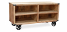 Buy Industrial style TV cabinet - Kanda Natural wood 59071 in the Europe