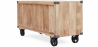 Buy Industrial style TV cabinet - Kanda Natural wood 59071 with a guarantee