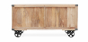 Buy Industrial style TV cabinet - Kanda Natural wood 59071 - in the EU