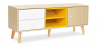 Buy TV unit sideboard Daven - Wood Yellow 59657 at Privatefloor