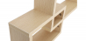 Buy Scandinavian style wall shelf 3 boxes - Wood Natural wood 59645 in the Europe