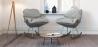 Buy Scandinavian Design Padded Rocking Armchair Grey 59895 in the Europe