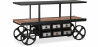 Buy Vintage Industriel Design Truck Console Table - Metal Black 58255 - prices