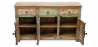 Buy Vintage Large recycled wooden sideboard - Seaside Multicolour 58500 at Privatefloor