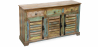Buy Vintage Large recycled wooden sideboard - Seaside Multicolour 58500 with a guarantee