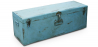 Buy Industrial vintage design locking trunk Blue 58326 - prices