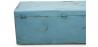 Buy Industrial vintage design locking trunk Blue 58326 home delivery