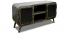 Buy Industrial Antique Vintage Style TV Cabinet - Grange & Co. - Iron Steel 54023 - prices