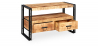 Buy Onawa vintage industrial style Tv unit Natural wood 58466 - prices