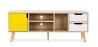 Buy TV unit sideboard Aren - Wood Yellow 59660 - in the EU