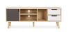 Buy TV unit sideboard Aren - Wood Grey 59660 - prices