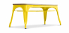 Buy Style Tolix Bench - Light Wood Yellow 59873 - in the EU