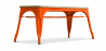Buy Style Tolix Bench - Light Wood Orange 59873 in the Europe
