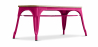 Buy Style Tolix Bench - Light Wood Fuchsia 59873 - in the EU