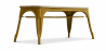 Buy Style Tolix Bench - Light Wood Gold 59873 at Privatefloor