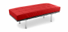 Buy Barcelona Bench Ludwig Mies van der Rohe Red 13219 in the Europe