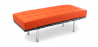Buy Barcelona Bench Ludwig Mies van der Rohe Orange 13219 - in the EU