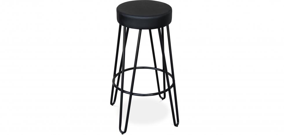 Buy Industrial Bar Stool 80 cm - Elan Black 59572 - in the EU