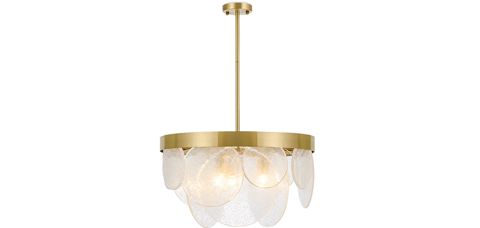 Buy Crystal Hanging  Lamp Gold 59928 - in the EU