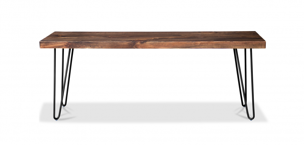 Buy Hairpin Design Bench Black 58437 - in the EU