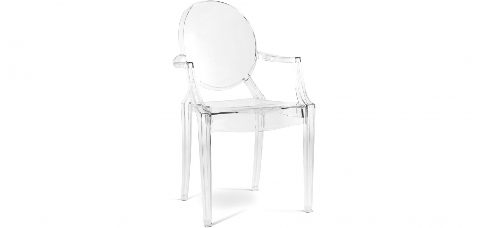Buy Louis XIV Armchair Transparent 16461 - in the EU