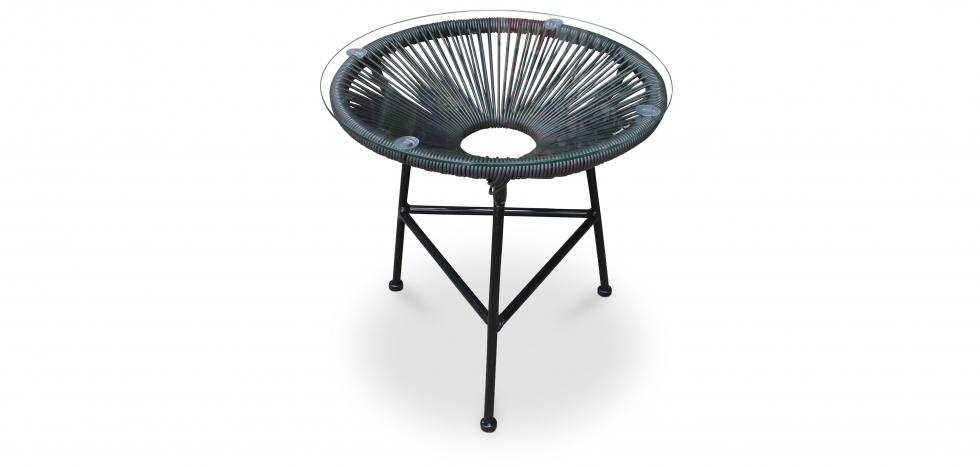 Buy Acapulco garden table Black 58571 - in the EU