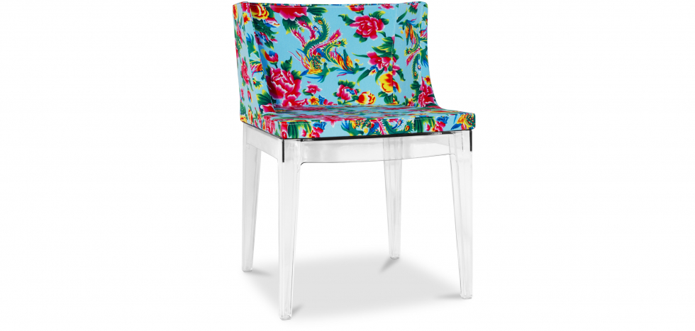 Buy Blue Mademoiselle Style Chair Transparent 54118 - in the EU