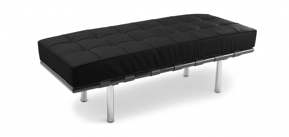 Buy Barcelona Bench Ludwig Mies van der Rohe Black 13219 - in the EU