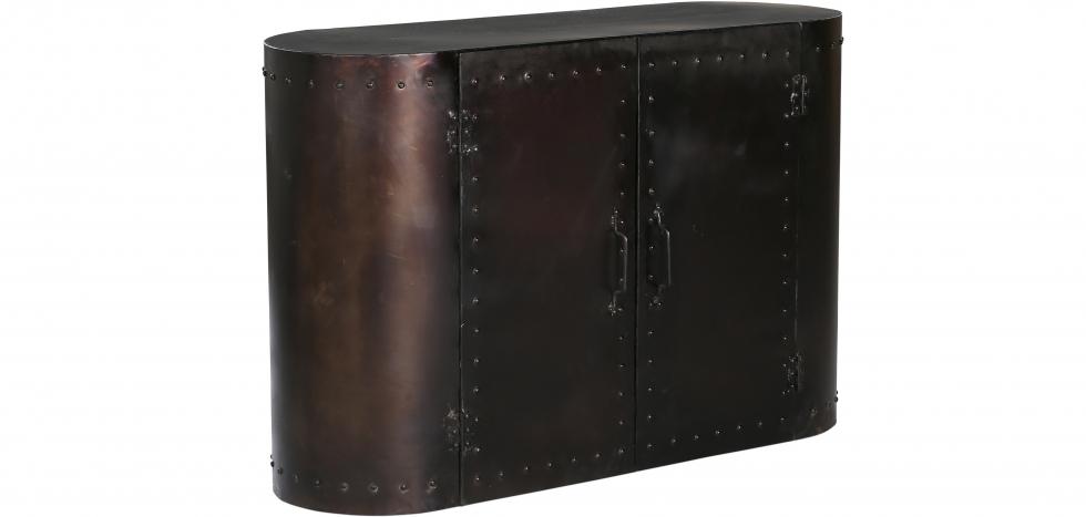 Buy Retro vintage industrial sideboard grange & co metal Steel 54015 - in the EU