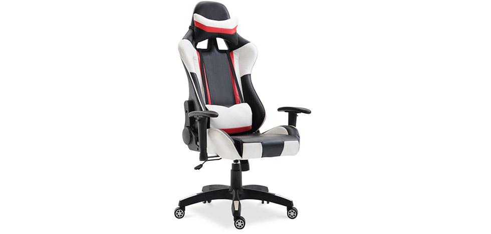 Buy Chaise de bureau Racing Gaming White 59025 - in the EU