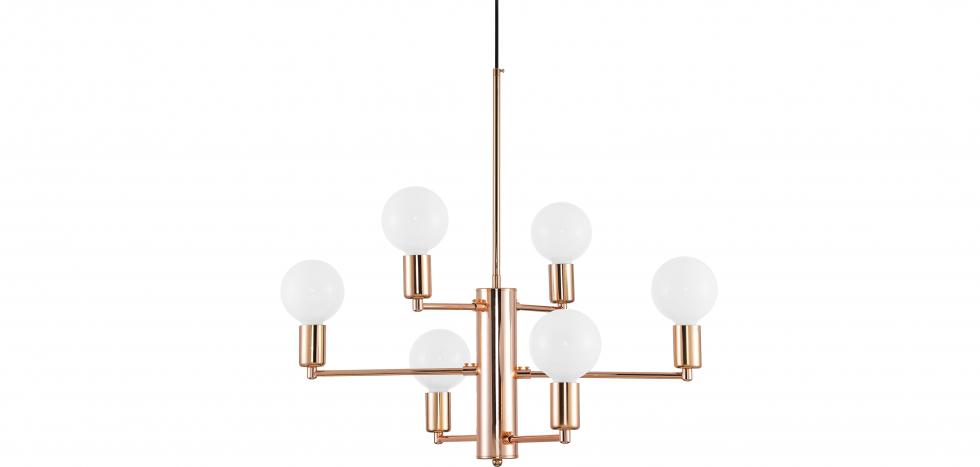Buy Golden pendant lamp - Nally Gold 59030 - in the EU