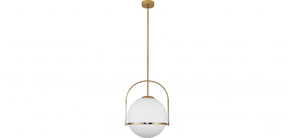 Buy Anette pendant lamp - Metal and crystal Gold 59329 - in the EU
